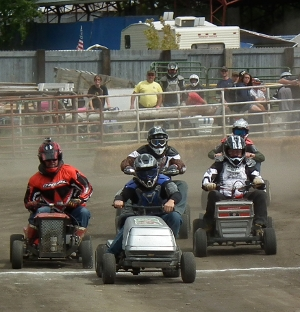2012 Lawn Mower Racing